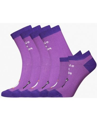 Фиолетовый носки набор Bb Socks