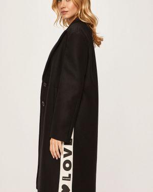 Куртка с капюшоном на пуговицах с карманами Love Moschino