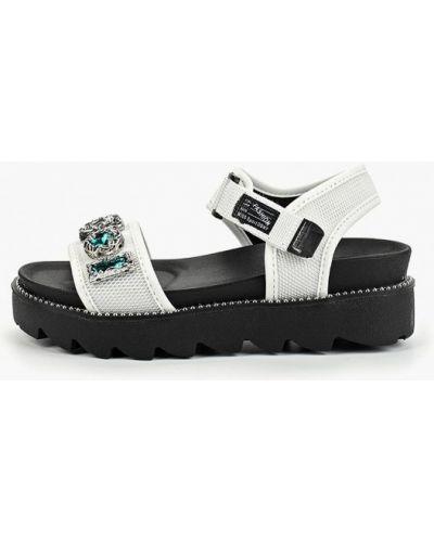 Текстильные сандалии - белые Dino Albat