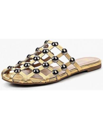 Сабо золотого цвета Grand Style