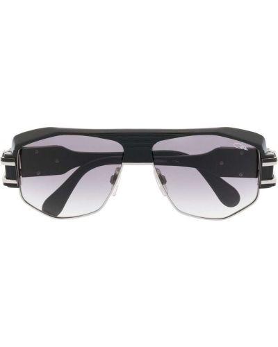 Czarne okulary z printem Cazal