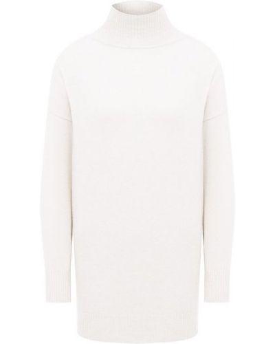 Кашемировый белый пуловер Pietro Brunelli