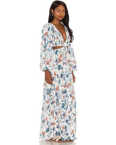 Sukienka długa - biała Indah