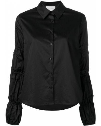 b4f2bc9fc59 Женские черные рубашки с длинным рукавом - купить в интернет ...