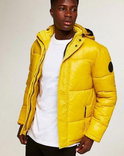 Утепленная куртка демисезонная осенняя Topman