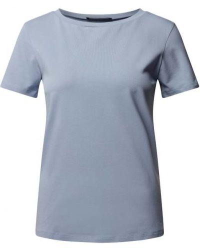 Niebieska koszulka bawełniana Weekend Max Mara
