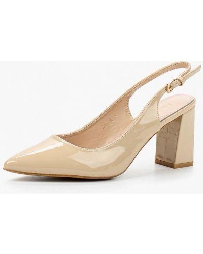 Бежевые кожаные туфли Rio Fiore