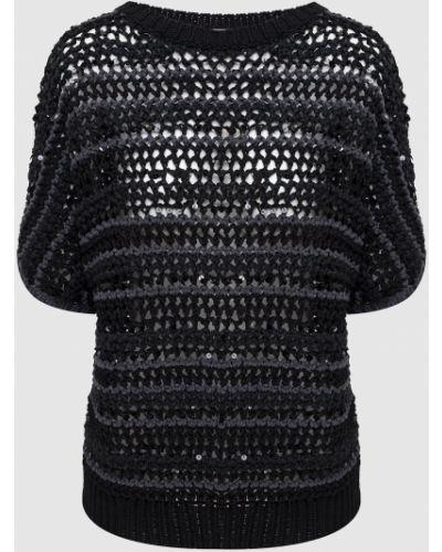 Черный свитер Brunello Cucinelli