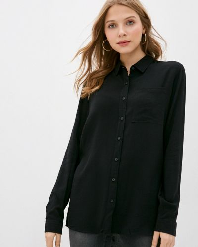С рукавами черная блузка Fresh Made