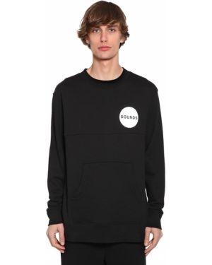 Prążkowany czarny sweter Bmuet(te)
