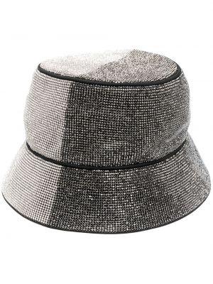 Белая шапка свободного кроя Kara