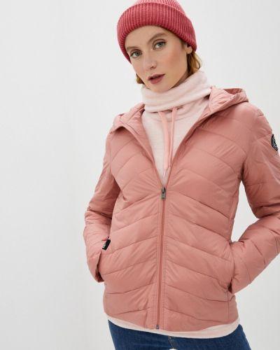 Розовая теплая куртка Roxy