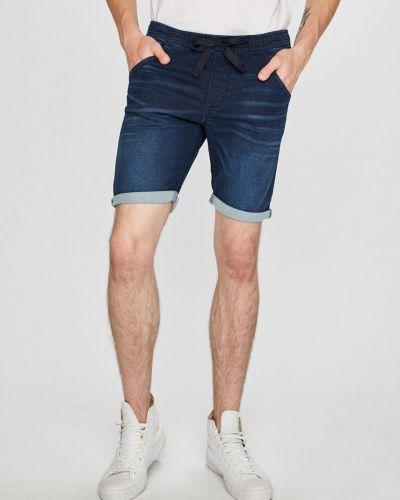 Джинсовые шорты прямые на резинке Tom Tailor Denim