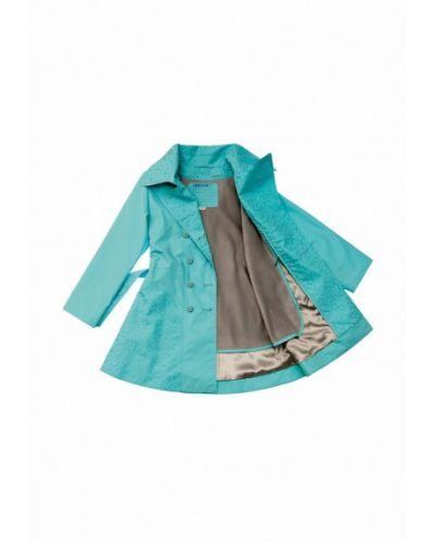 Бирюзовое пальто Babyline