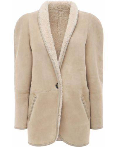 Бежевая куртка с карманами Isabel Marant étoile
