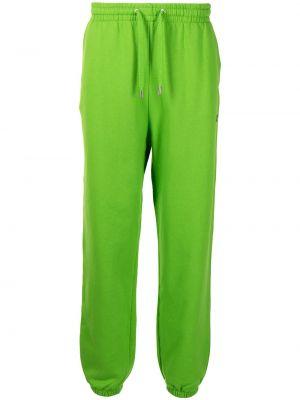 Зеленые хлопковые брюки Mackage