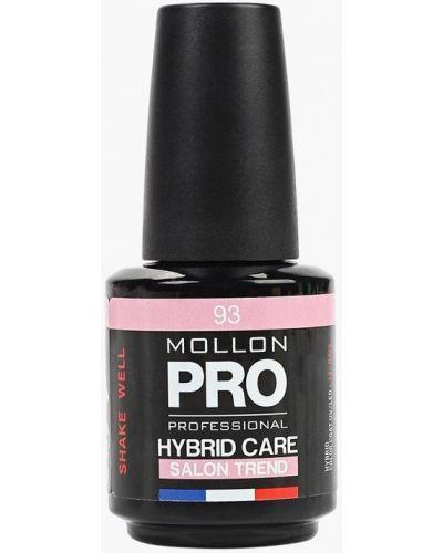 Розовый лак для ногтей Mollon Pro
