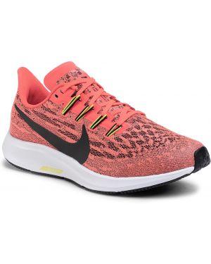 Buty czarne czerwony Nike