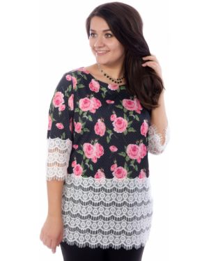 Блузка кружевная розовая Wisell