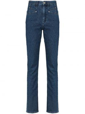 Klasyczne mom jeans - niebieskie Isabel Marant