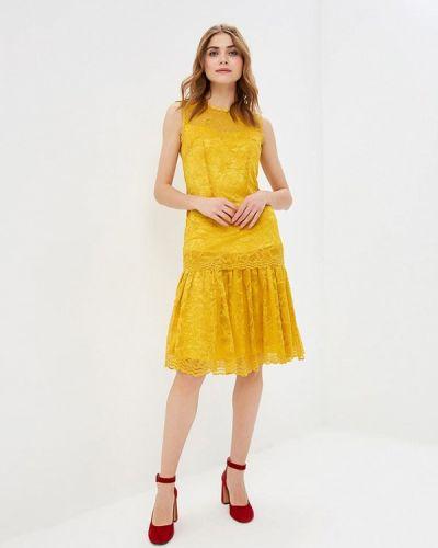 Платье весеннее желтый Madam T