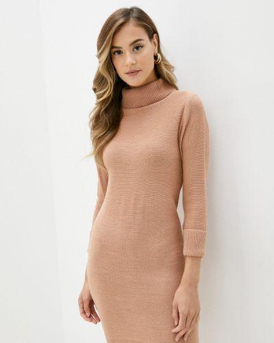 Вязаное розовое платье Brave Soul
