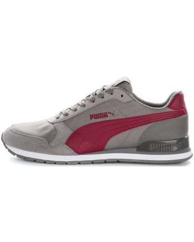 Серые кроссовки на шнуровке Puma
