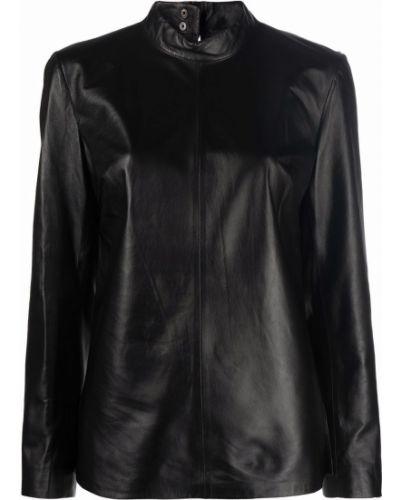 Черная блузка с воротником Arma