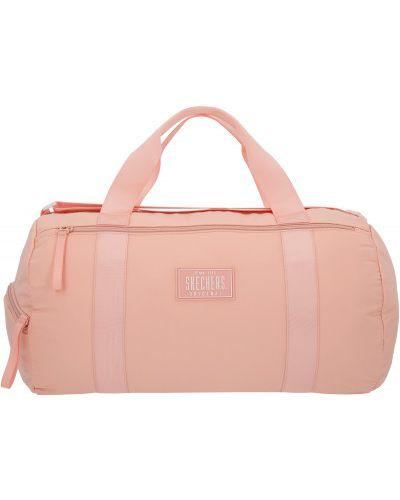 Розовая спортивная сумка Skechers