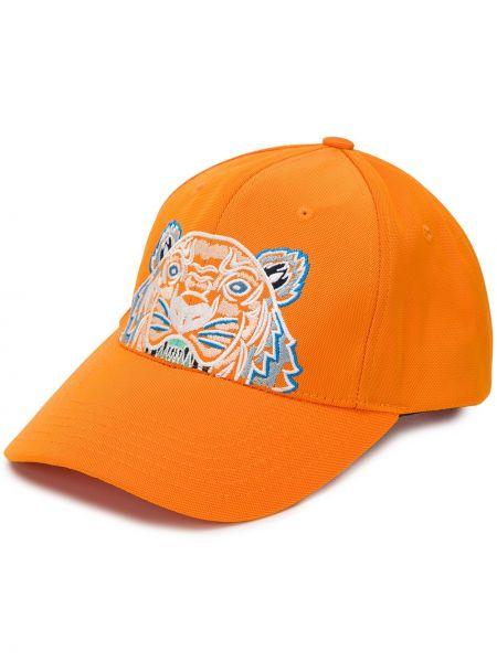 Оранжевая кепка Kenzo