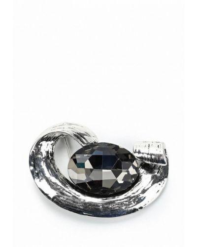 Брошь серебряного цвета Art Silver
