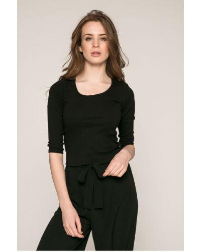 Черная блузка с рукавом 3/4 Answear
