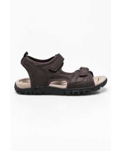 Коричневые сандалии Geox