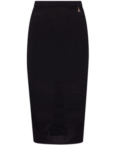 Czarna spódnica ołówkowa Patrizia Pepe