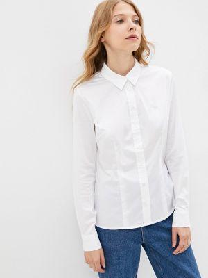 Белая рубашка с длинным рукавом с длинными рукавами Guess Jeans