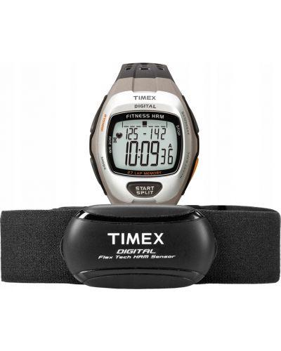 Czarny zegarek sportowy Timex