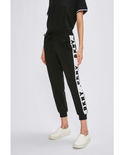 Спортивные брюки на резинке с карманами Dkny