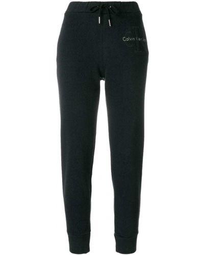 Спортивные брюки зауженные с отворотами Calvin Klein