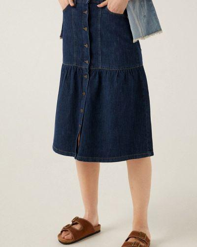 Синяя джинсовая юбка Springfield