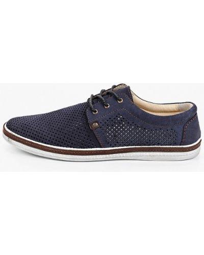 Синие туфли из нубука Der Spur