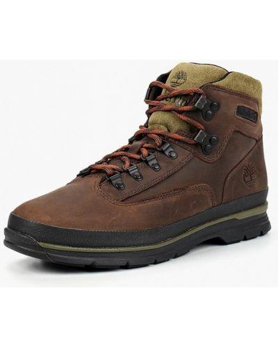 Треккинговые ботинки осенние кожаные Timberland