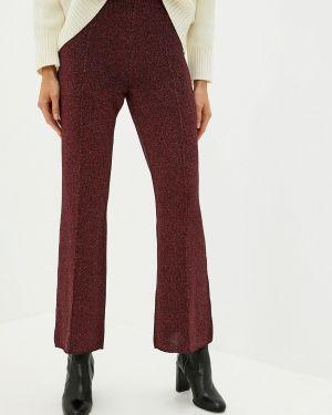 Классические брюки красный светло-розовый Nude