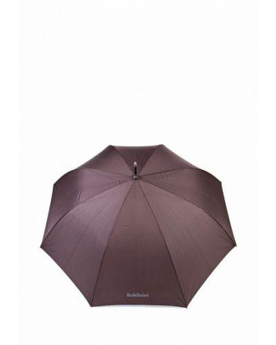 Зонт зонт-трости коричневый Baldinini