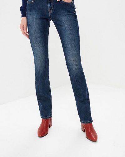Широкие джинсы расклешенные синие Rifle