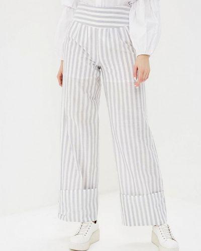 Серые брюки повседневные Lost Ink.