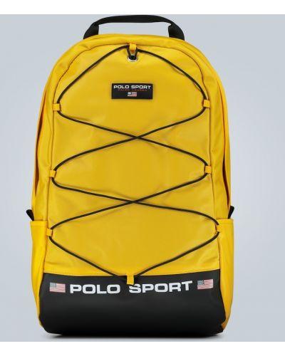 Plecak sportowy - żółty Polo Ralph Lauren