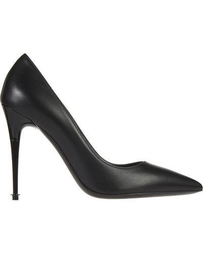 Туфли на каблуке кожаные осенние Tom Ford