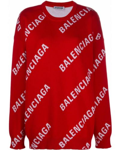 Z rękawami bawełna wełniany zworki Balenciaga