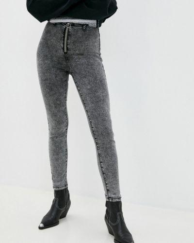 Серые джинсы-скинни узкого кроя Befree