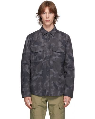 Ciepła czarna kurtka bawełniana Rag & Bone